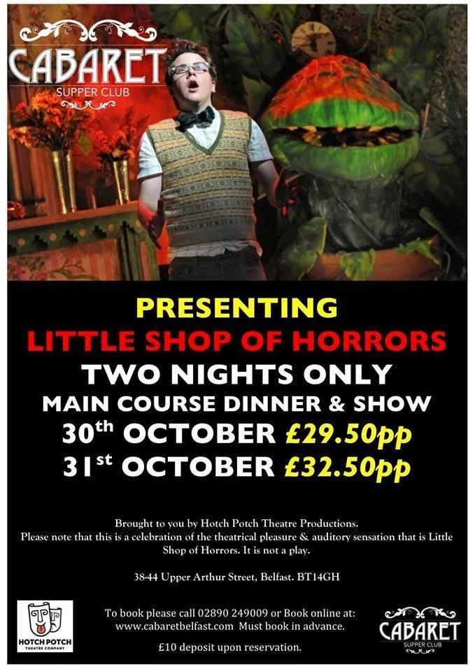 Little Shop of Horrors Belfast