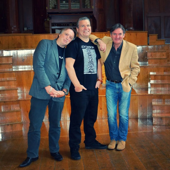 Barry Devlin (Horslips), Johnny Hero (U105) and Jim Lockhart (Ho