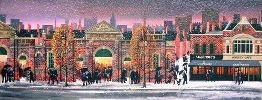 St Georges Market at Christmas