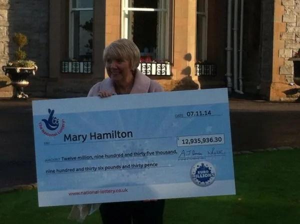 Belfast Lottery Winner