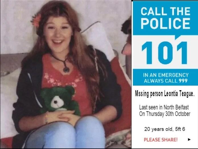 Leontia Teague missing person
