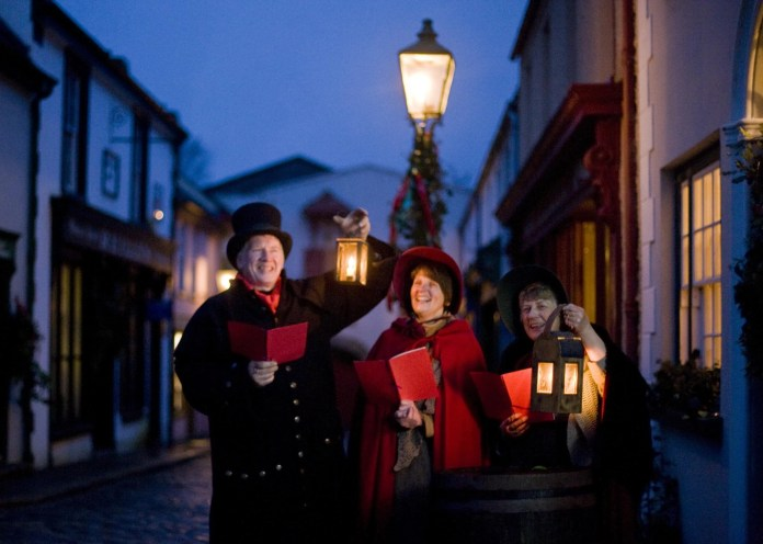 Traditional Christmas Caroling at the Ulster American Folk Park