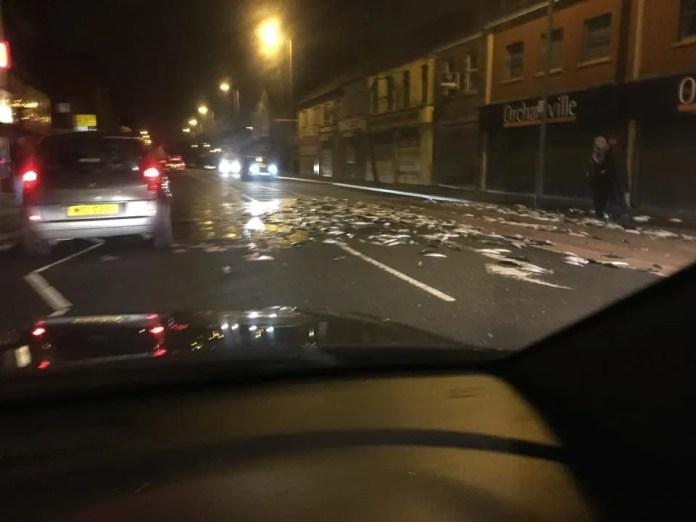 Fish Spill East Belfast