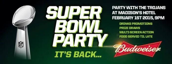 Super Bowl Party Love Belfast