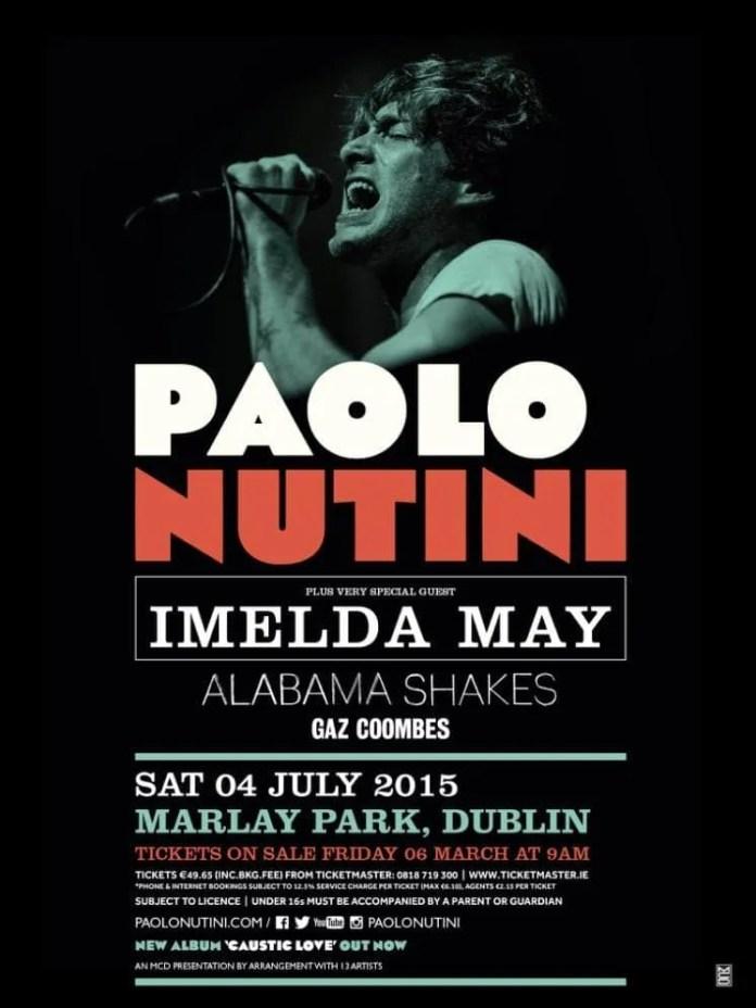 Paolo Nutini Dublin