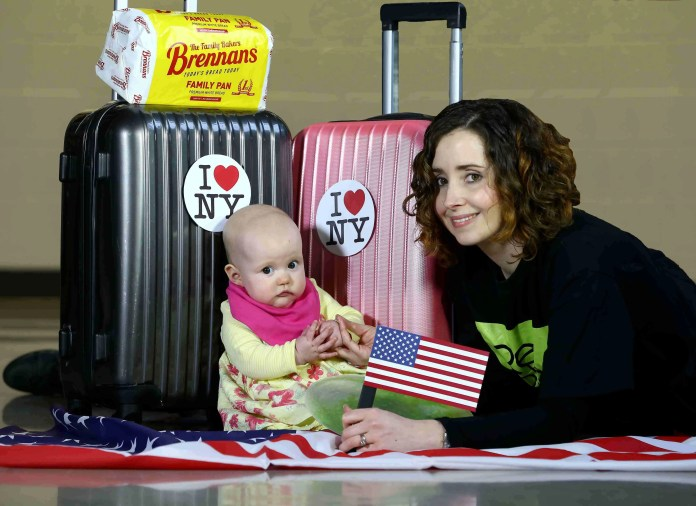 Doireann McKenna from Belfast based children's theatre group Replay gets ready to take a bite out of the big apple as she prepares to travel to New York next week where the group will entertain audiences with their successful performance of Babble.