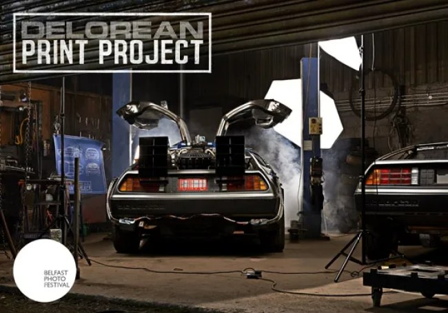 Belfast Photo Festival has just launched a Kickstarter campaign to build a full scale Back To The Future DeLorean replica. But, there's a twist!