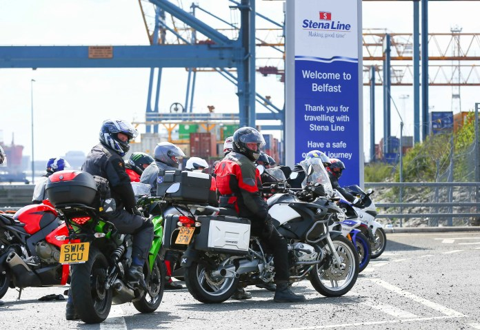 "Hundreds of bikers ride off the Stena Superfast V111 at the Stena Line VT4 terminal, Belfast to make their way to the Vauxhall North West 200, one of Northern Ireland's largest outdoor sporting events which attracts thousands of spectators from all over the UK and Ireland each year. Stena Line will transport over 2,300 bikers over the next few days on its Cairnryan to Belfast and Liverpool to Belfast routes and more motorcycle enthusiasts than ever are travelling to the world renowned event via Stena Line with the number of bikers on board this year increasing by over 26% compared to last year.  The number of visitors expected to attend the event are approximately 54,000 including 17,000 from outside of NI.   Stena Line's Head of Communications & PR, Diane Poole OBE commented: ""The North West 200 is an iconic event for Northern Ireland and we are delighted that we can help ensure as many bikers as possible get to sail over and enjoy what is set to be a fantastic weekend.  ""When travelling with Stena Line, they experience a comfortable, smooth sailing in relaxed surroundings which is sure to set them up for the busy weekend ahead,"" added Diane. For more information on Stena Line or to book your ferry travel go to www.stenaline.co.uk or call 08447 70 70 70"