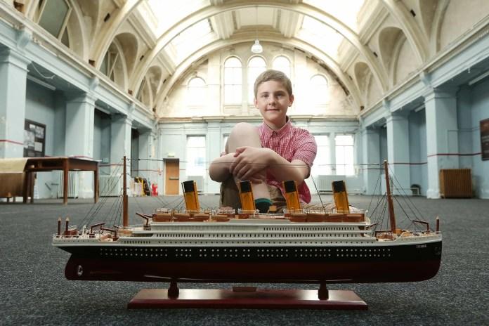 Brynjar visits Titanic Belfast