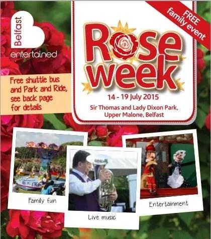 Rose Week Belfast