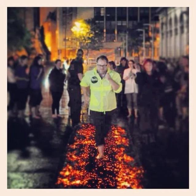Ian Firewalk
