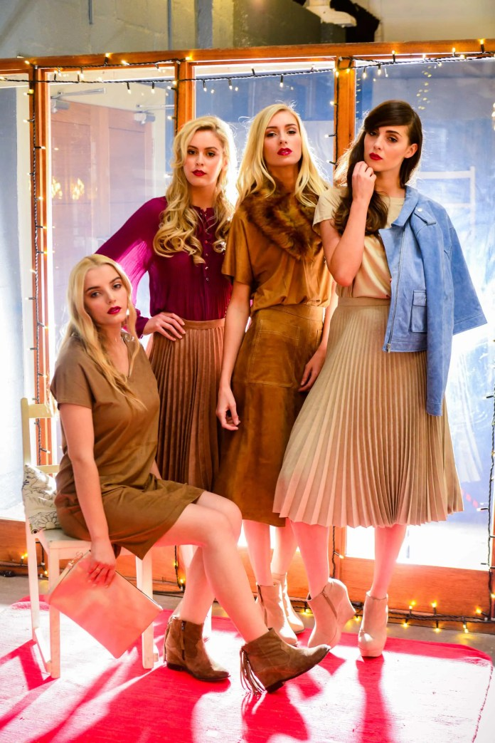 Models Sacha, Rebecca, Carys and Lucy in the latest looks from Exhibit, George at Asda, DV8, Warehouse, New Look at CastleCourt, M&S, Next and Dorothy Perkins @ CastleCourt
