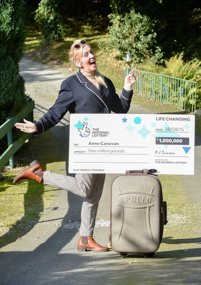 Anne Canavan Lottery Winner #6