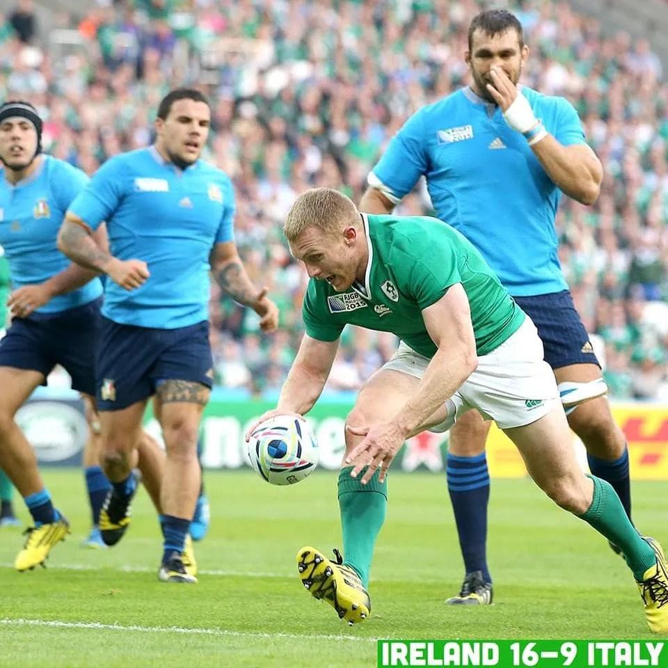 Ireland Qualify For European Olympic Games: IRELAND QUALIFY FOR RWC QUARTER FINALS