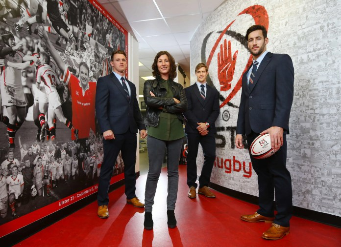 Ulster Rugby dressed for success with Remus Uomo
