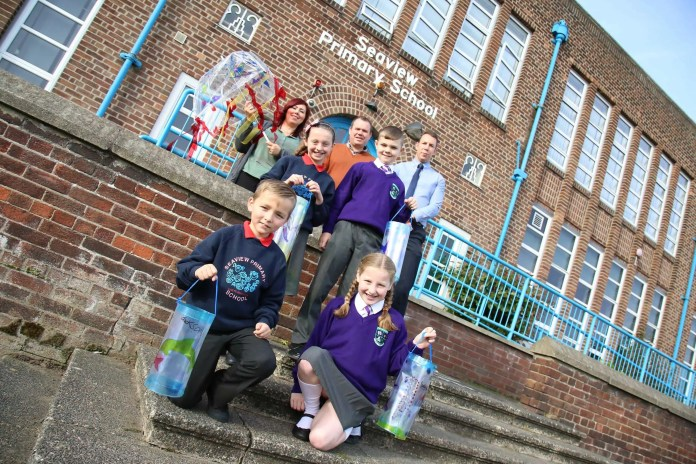 Seaview & St. Mary's Primary Schools Lantern Making for The North Belfast Lantern Parade (20th October 2015)  Photo: AMMG