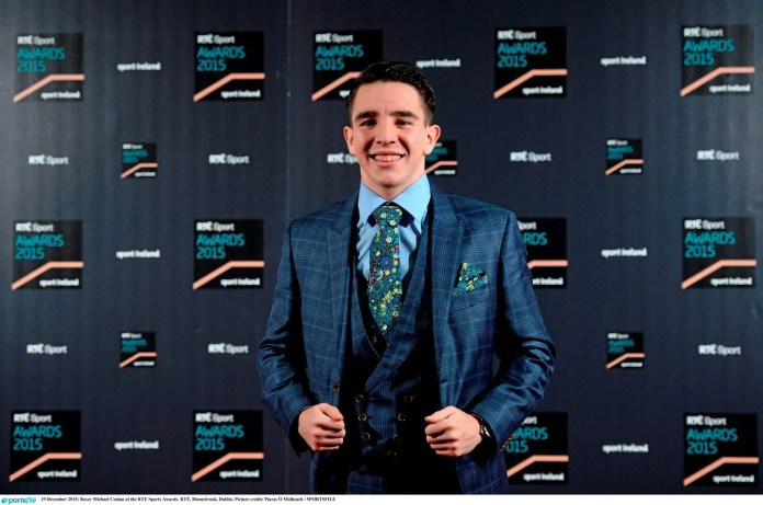 Michael Conlan, European and World Bantamweight Champion, was named the RTÉ Sport Person of the Year.
