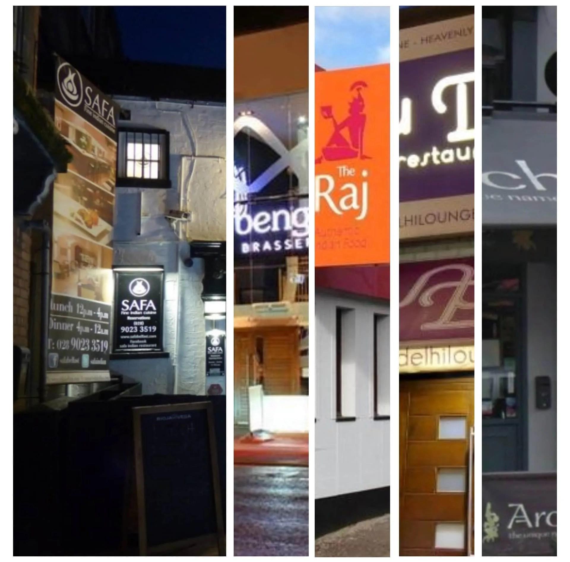 Top 10 Indian Restaurants in Belfast