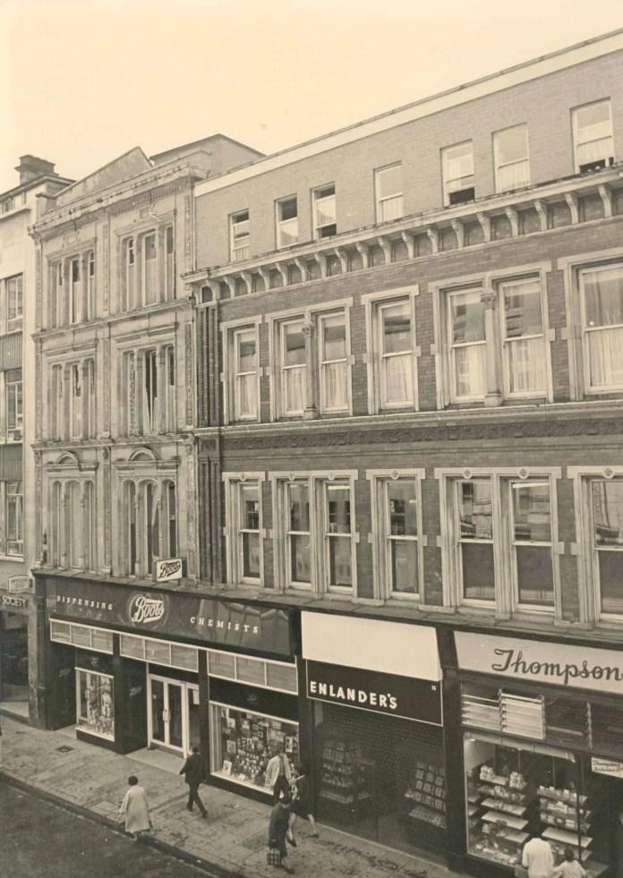 Belfast Cornmarket 1966