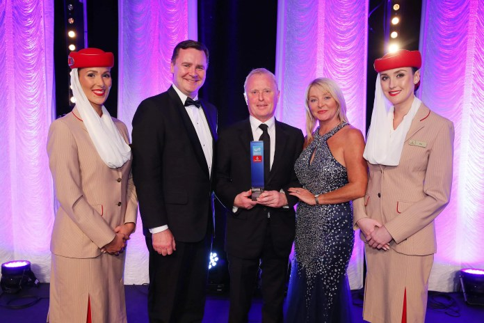 15 Business Personality of the Year Leading Northern Ireland hotelier Bill Wolsey has been named Business Personality of the Year at the 10th anniversary UTV Business Eye Awards in association with new lead sponsors Emirates. The awards, which will be broadcast on UTV at 2240 on 6th December, were presented at Belfast Waterfront last night (Thursday, 24th November) in front of a record-breaking audience of more than 700 business guests. Other winners on the night included Chris Martin of online retailer Ozaroo who won Young Business Personality of the Year; The Deluxe Group which won SME of the Year; and the WIS Group which was named Fast Growth Company of the Year. A unique double Lifetime Achievement award was also presented to Jack and Jim Dobson, founders of Dunbia.