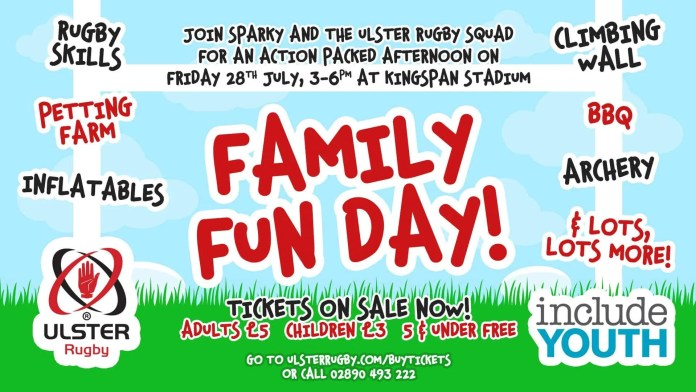 Ulster Rugby Family Fun Day
