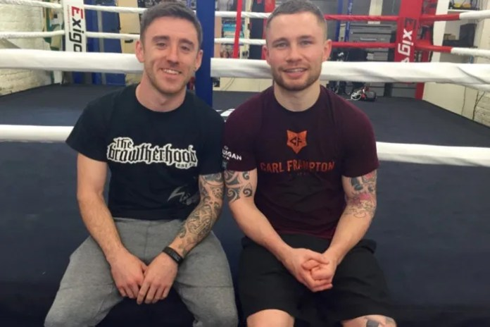 Lee Johnston and Carl Frampton