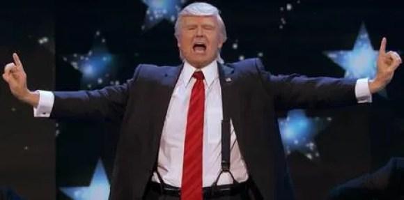 Singing Donal Trump