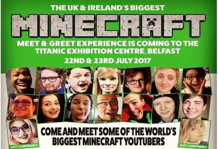 Minecraft Belfast