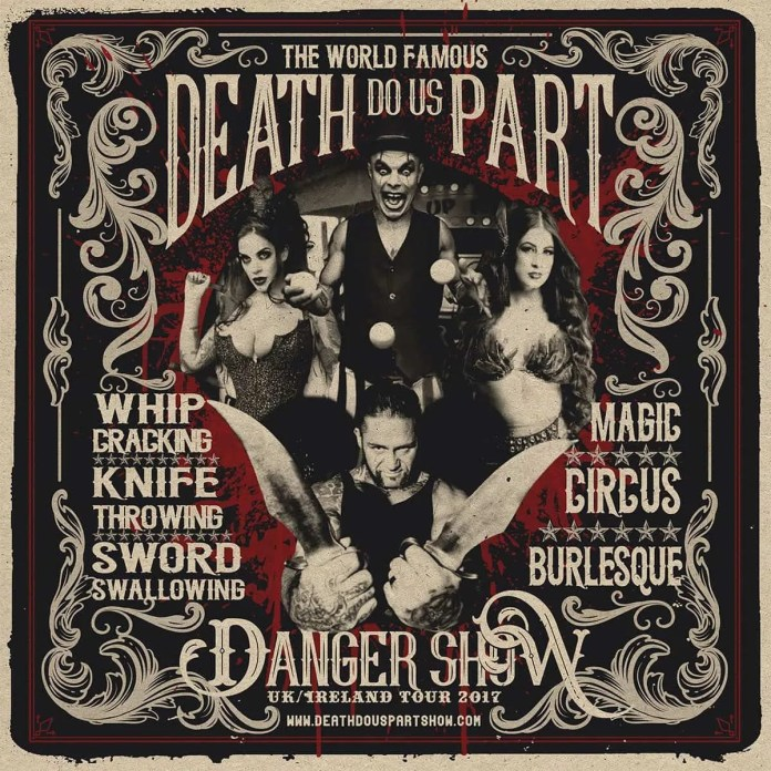 Death Do Us Part Danger Show Thursday 3rd August Cabaret Supper Club