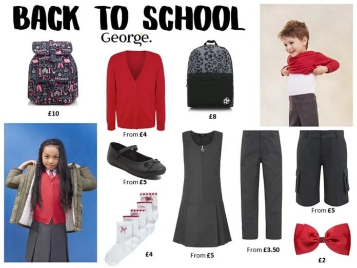 Back to School ASDA