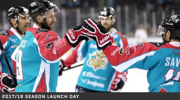 Belfast Giants Launch Day