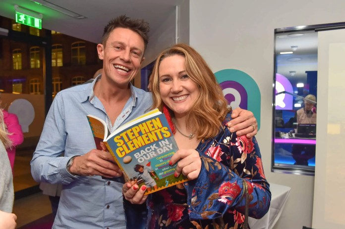 Stephen Clements book launch