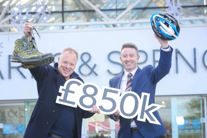 M&S RAISES £850,000 FOR ACTION CANCER