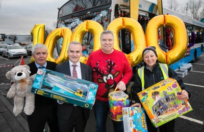 #StuffABusNI smashes 10,000 toys target