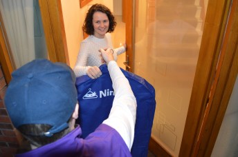 Ninjadry - revolutionising dry cleaning and laundry in Northern Ireland