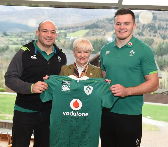 Ireland Rugby Visit Daisy Lodge 8