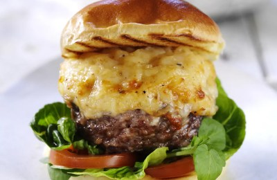 Asda Mac & Cheese burger
