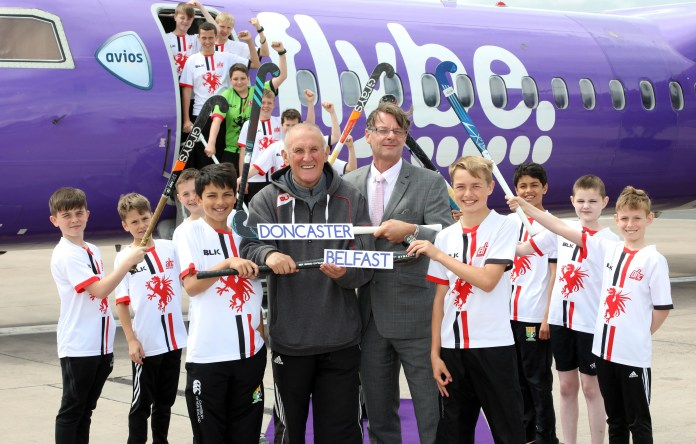 FLYBE BEGINS NEW ROUTE FROM BELFAST CITY TO DONCASTER SHEFFIELD