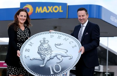 Maxol 'Tops up by Ten' this summer for AWARE NI