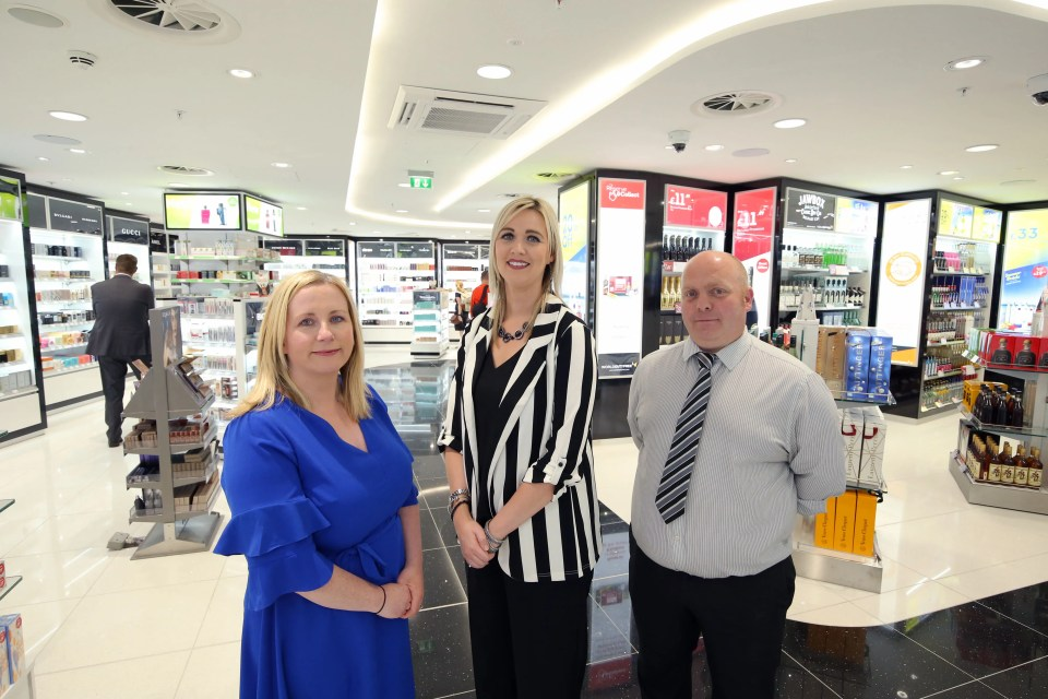 Refurbished World Duty Free and WH Smith units open at Belfast City Airport