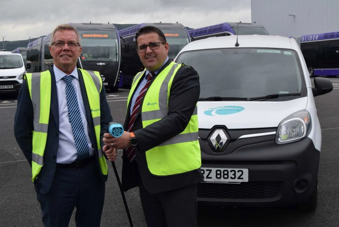 Translink goes green with electric van link-up
