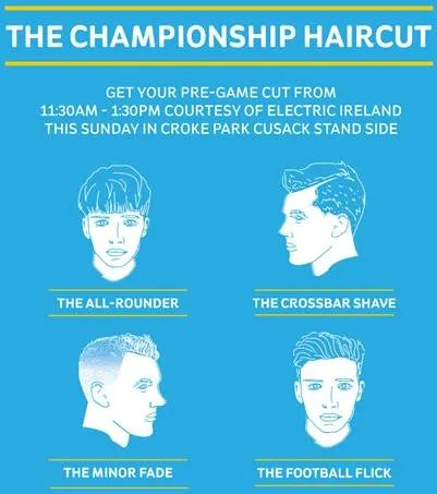The GAA Championship Haircut