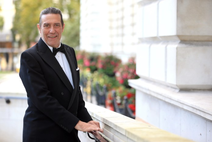 BELFAST ACTOR CIARAN HINDS HONOURED AT THIS YEAR'S ULSTER TATLER AWARDS