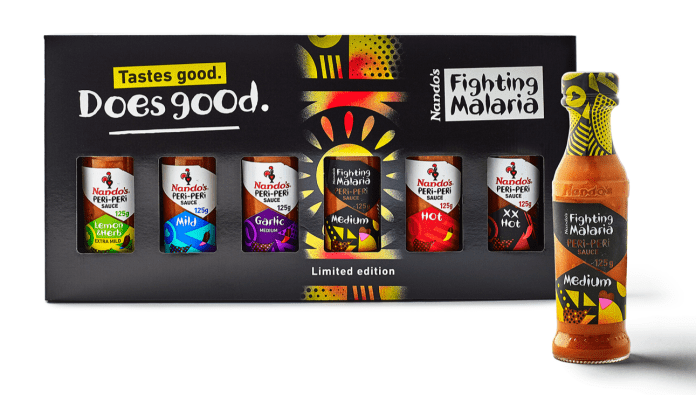 Nandos Sauce Pack
