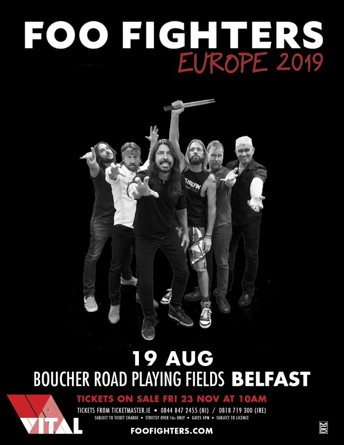 Foo Fighters Belfast 2019