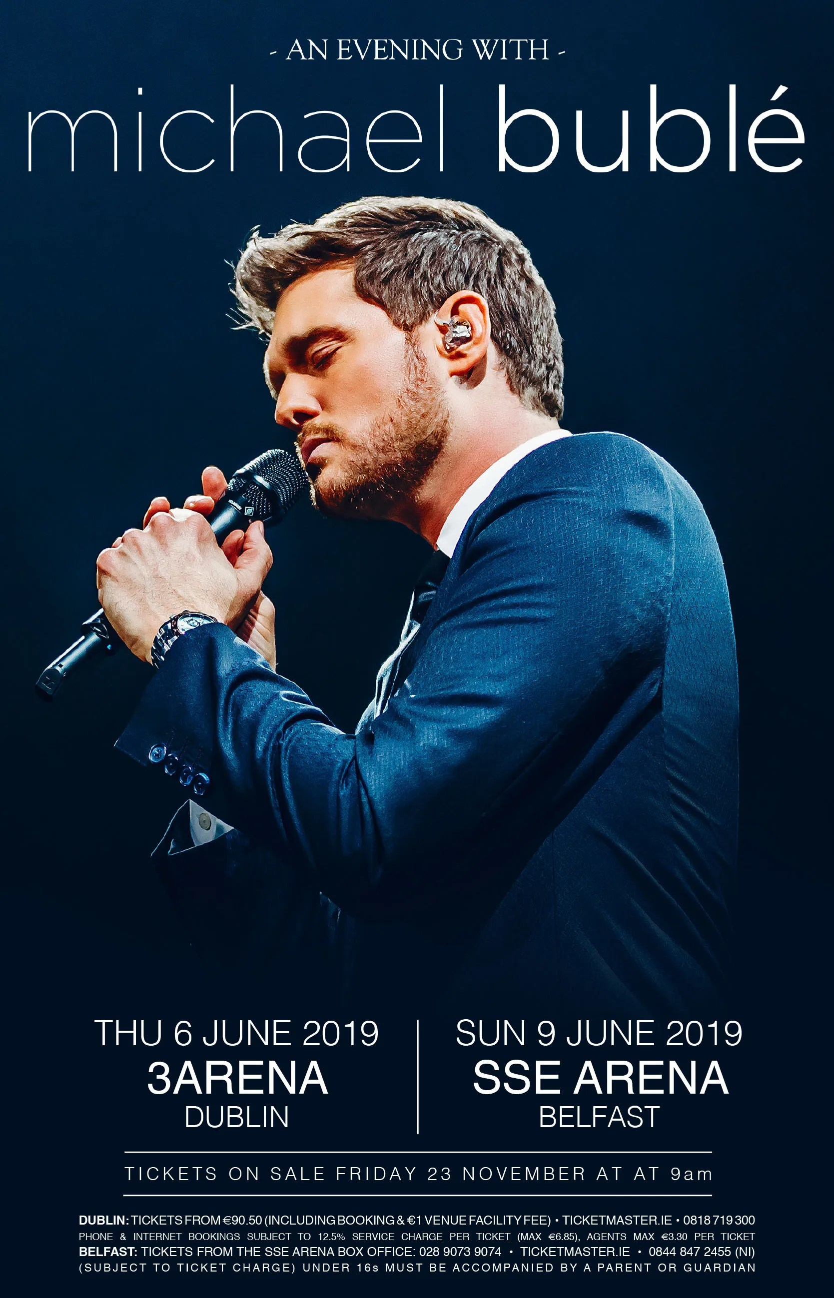 Michael Bublé Announces Arena Dates For Dublin And Belfast Lovebelfast