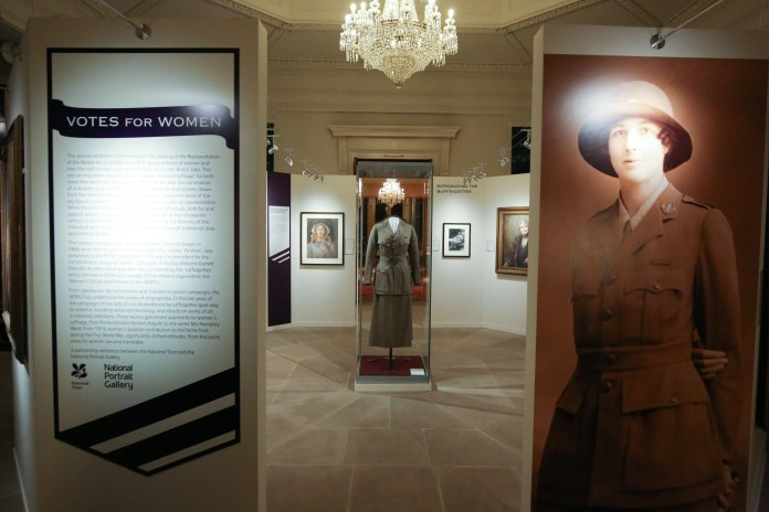 'FACES OF CHANGE: VOTES FOR WOMEN' EXHIBITION OPENS AT MOUNT STEWART