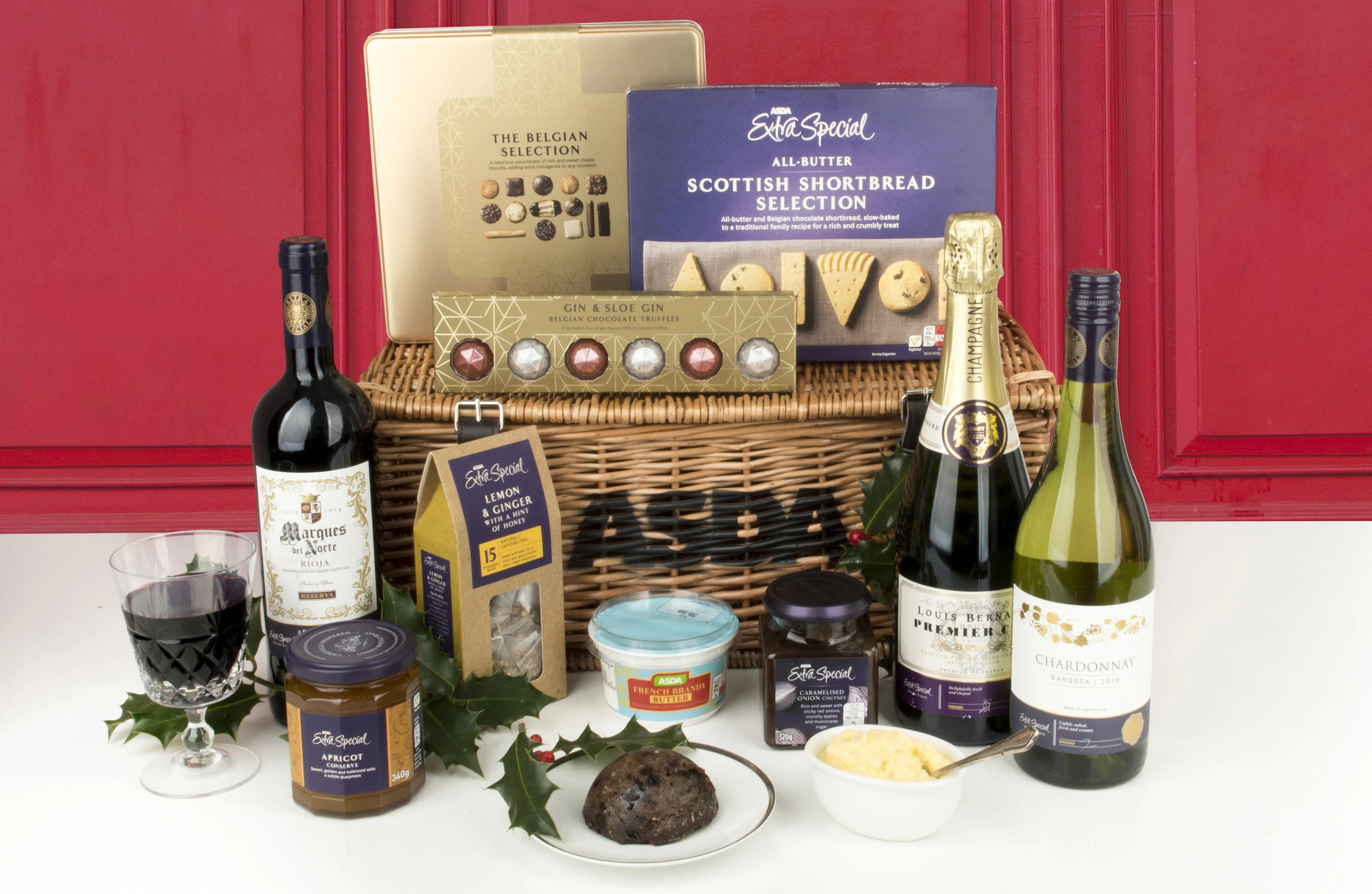 Hankering For A Luxury Hamper Build Your Own With Asda This