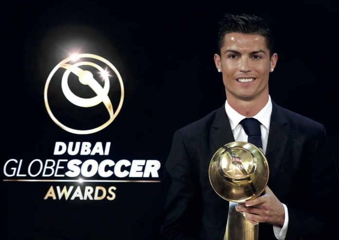 Cristiano Ronaldo Previous GSA Winner