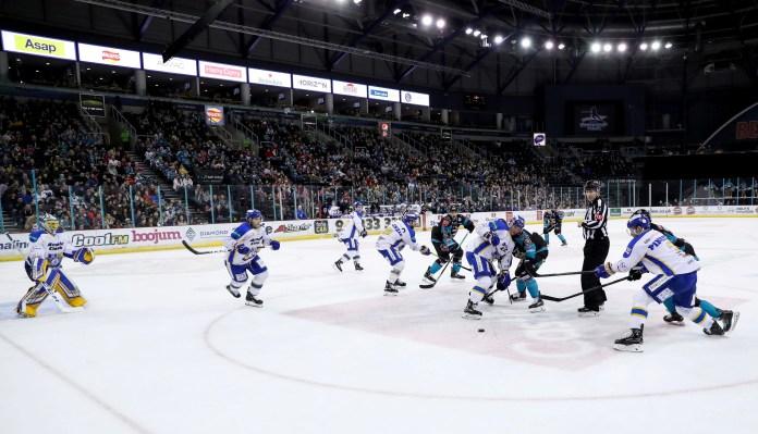 Belfast Giants Down Flyers With Dwyer Double